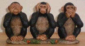 Blog no evil, said the 4th monkey<br />